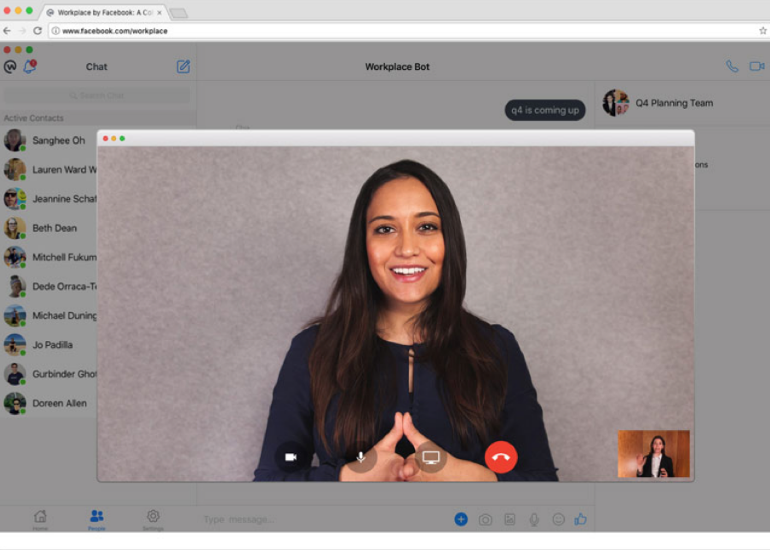 Faceboo offers familiarity and quicker connections for collaboration