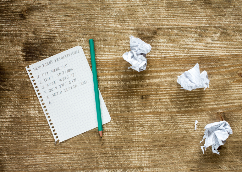 Get ready to make a New Year Resolutions list