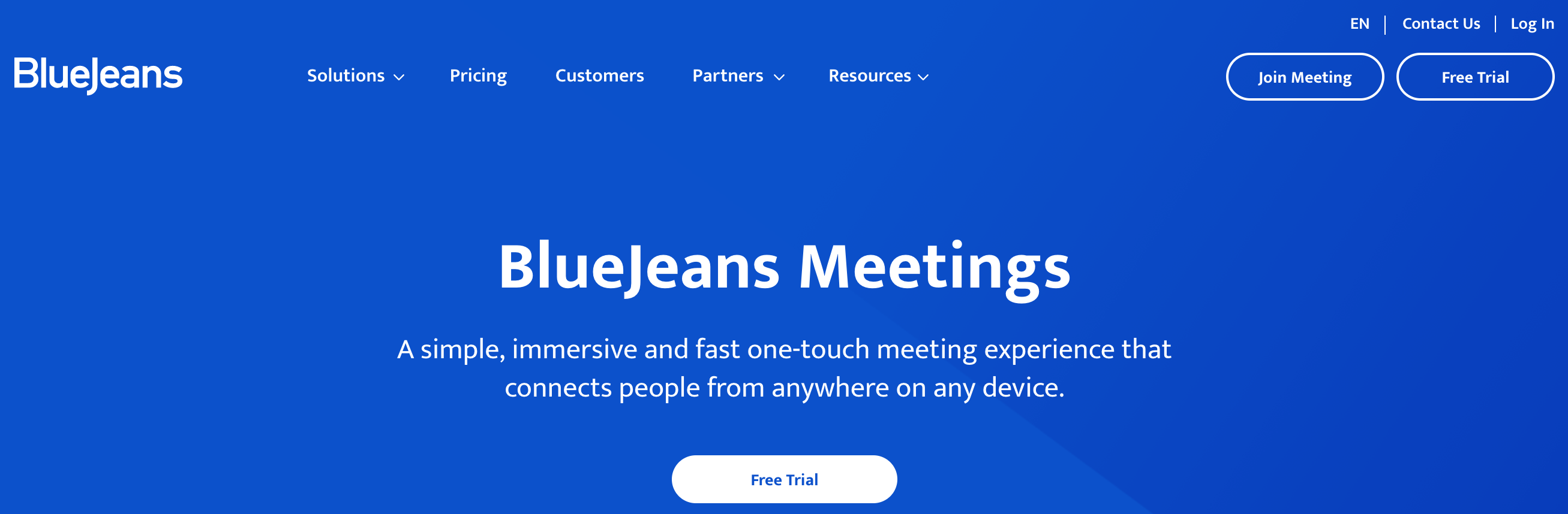 Blue Jeans is easy-to-setup and manage for conducting online meetings