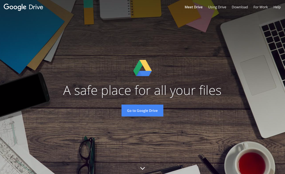 G Suite is a safe place for all your files.