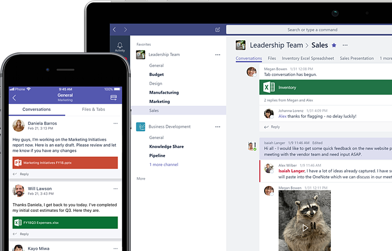Microsoft Teams might help your teams collaborate better.