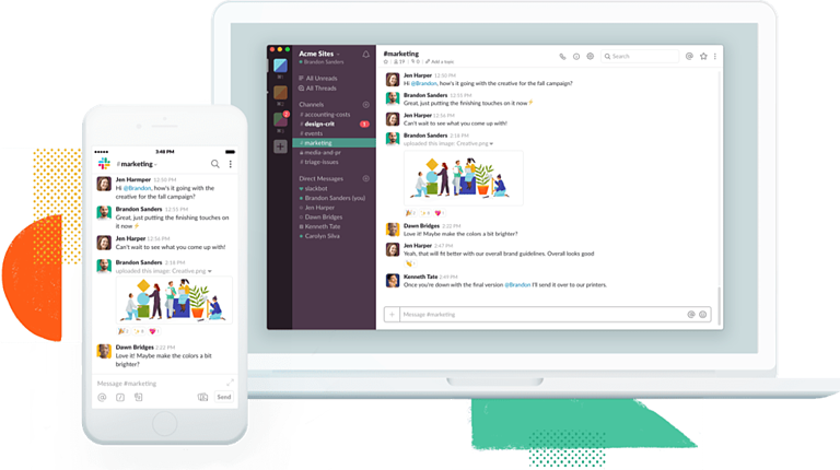 Slack is the most easy-to-use collaboration tool