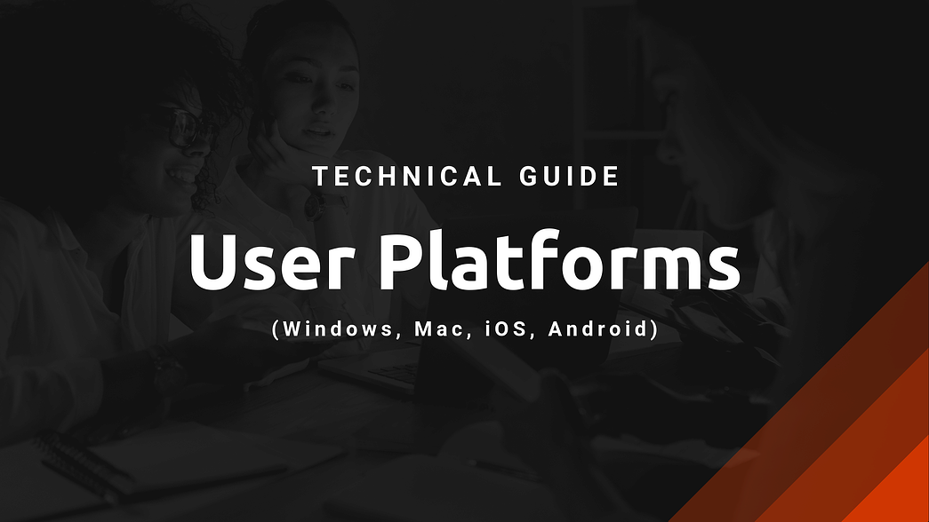 Guide-User-Platforms